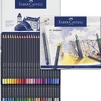 Faber-Castell 辉柏嘉 金色彩色铅笔 金属笔杆, 48-teiliges Zinn-Set