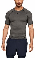 Under Armour 安德玛 HeatGear 男式短袖衫 男式高级面料紧身健身上衣 *2件