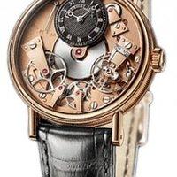 BREGUET 宝玑 Tradition 传世系列 7027BRR99V6 18K金男士机械腕表