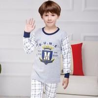 MIQIER 米琦尔 儿童纯棉内衣套装 110cm-120cm