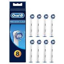Oral-B 欧乐-B EB20 精准清洁型 电动牙刷头 8支装 *2件