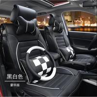 328高大帅 格调竹碳皮四季汽车坐垫座套 豪华座垫 汽车用品(豪华版黑色 材质)