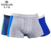 TEDELON 太子龙 男士纯棉平角裤