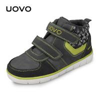 UOVO2019秋冬新款男童鞋保暖儿童运动鞋