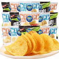 可比克 纯切薯片 15g*10包 *3件