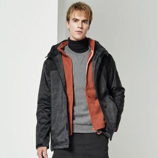 TFO 662967 男款防水迷彩冲锋衣