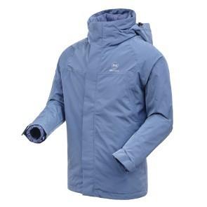 kroceus 地球科学家 27122 男士羽绒服三合一冲锋衣