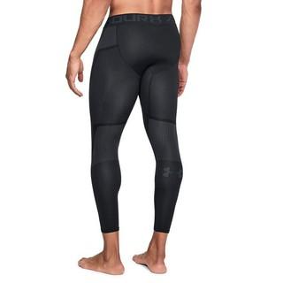 UNDER ARMOUR 安德玛 Seamless 男子运动训练紧身裤 1320199 黑色001 M