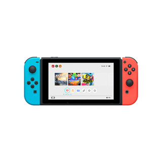 Nintendo 任天堂 Switch NS掌上游戏机 红蓝手柄 长续航 日版