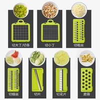 切菜神器多功能土豆丝切丝器刨丝器切丁厨房家用擦土豆片切片切花