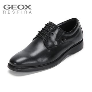 GEOX/健乐士男鞋黑色皮鞋 43