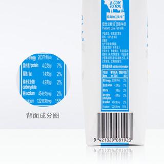 Theland 纽仕兰 4.0g蛋白早餐部分脱脂低脂纯牛奶250ml*16盒