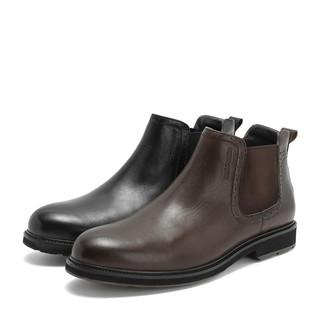 Hush Puppies 暇步士 切尔西靴男英伦风商务休闲皮靴