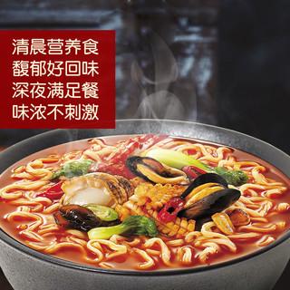 农心韩国进口新品海鲜面130gX4袋 方便面袋装 拉面泡面煮面方便面