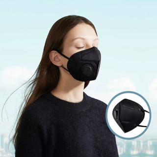 蕉下BANANAUNDER防雾霾口罩PM2.5防尘口鼻罩黑色秋冬10只装