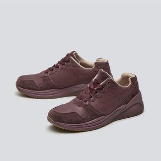 暇步士春季厚底系带运动休闲跑步女鞋健步鞋轻便软底06387CM8