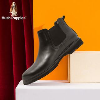 Hush Puppies/暇步士切尔西靴男英伦风商务休闲皮靴B2L03DD9