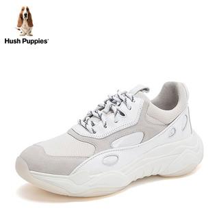 暇步士2019秋新款专柜同款品牌透气女老爹休闲运动鞋N1T03AM9