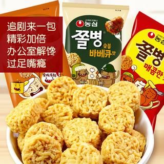 NONG SHIM 农心 韩国进口兵卒一口脆辣味/烤肉味/安城汤面味