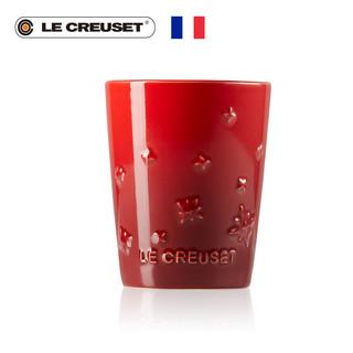 法国LE CREUSET酷彩 炻瓷圣诞星星系列220毫升平底杯