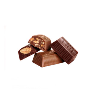HERSHEY'S 好时 巧金砖巴旦木牛奶巧克力425g