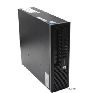 HP 惠普 800G1 USDT超微型迷你台式电脑小主机四代I5I7办公教学准系统 配置四
