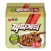 NONG SHIM 农心 韩国进口橄榄油韩式炸酱面140gX5袋