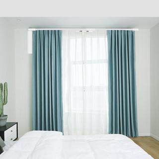 邦先生 智能窗帘套餐(含电机+窗帘布+安装)2米套餐遮光窗帘
