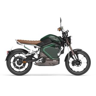 SOCO 速珂 TC 电动摩托车锂电瓶车 复古绿
