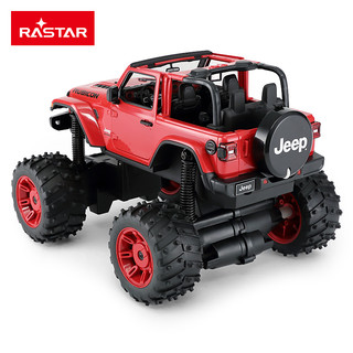 rastar/星辉 牧马人越野车怪兽赛车男孩玩具车大脚怪可折叠攀爬车