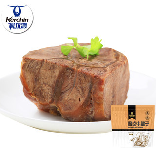科尔沁酱卤牛腱子60g*5袋五香味即食牛肉 酱卤牛肉零食熟食真空