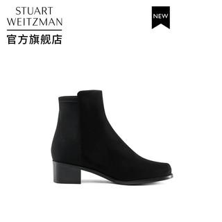 STUART WEITZMAN 斯图尔特·韦茨曼 SW EASYON RESERVE 短靴女 切尔西 黑色 37