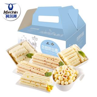 科尔沁奶酪零食礼盒 内蒙古特产奶酪奶棒奶干奶制品乳酪1200g