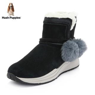 Hush Puppies 暇步士 2019新款时尚冬休闲新雪丽女雪地靴