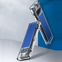 ORICO 奥睿科 M.2 NVMe外置Type-C移动硬盘盒 蓝色