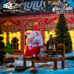 罐头猪LULU圣诞系列套装 手办潮流公仔摆件可爱礼物玩具