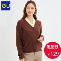 GU 极优 GU324283000 女士毛衣外套