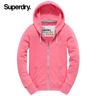 Superdry 极度干燥 卫衣女拉链开衫字母