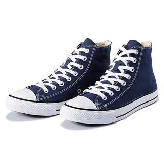 VANCL 凡客诚品 经典CLASSIC 凡客帆布鞋 高帮 男款 藏蓝色