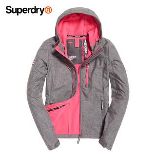 Superdry 极度干燥 防风夹克撞色抽绳连帽外套