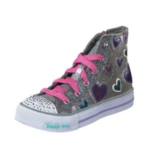 SKECHERS 斯凯奇 TWINKLE TOES 10583L 女童闪灯休闲鞋