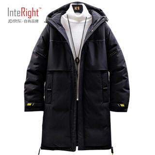 京东PLUS会员 : INTERIGHT 68888 男士中长款棉服 +凑单品