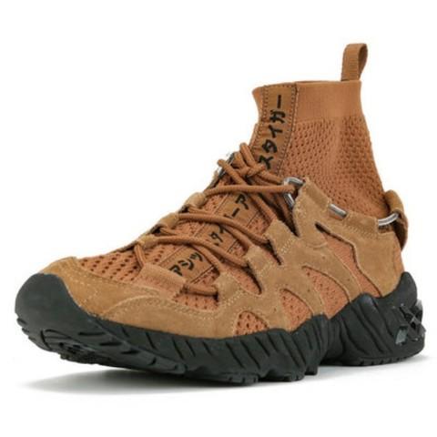 银联专享、邮税补贴:ASICS TIGER GEL-MAI KNIT MT 中性款高帮休闲运动鞋