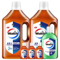Walch 威露士 衣物家居消毒液1L*2瓶 + 除菌液330ml+180ml