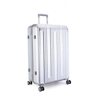 外交官(Diplomat)TC-23024 万向轮旅行箱 银色 28英寸