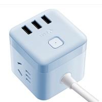 BULL 公牛  GN-U303UB 智能USB插座 1.5米 *2件