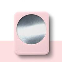 格子 55℃恒温加热杯垫 樱桃粉