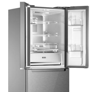 Whirlpool 惠而浦 BCD-409WM04GBWS 风冷变频多门冰箱 0度锁鲜免解冻 美味0时差