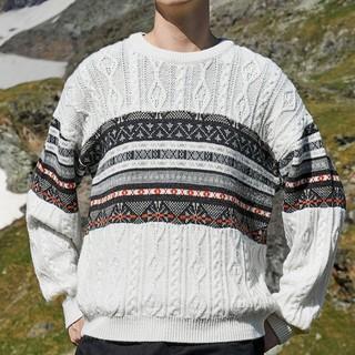 卡宾 3194101504 男士套头羊毛混纺毛衣