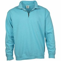 Comfort Colors 1580 男士半开襟拉链运动衫